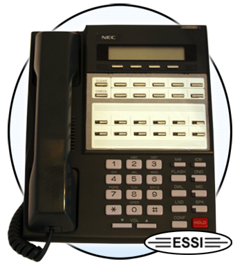NEC DS2000 22-Button Phone