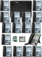 NEC 1100 16 Phones and Voice Mail